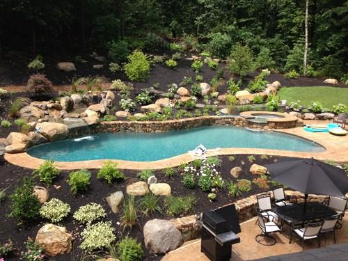 swimming pool retaining walls in brisbane